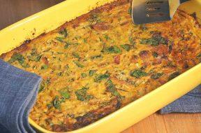 vegetable-bacon-slice