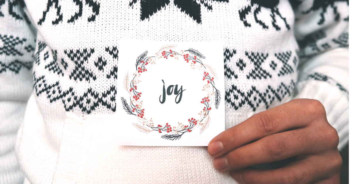 The 2nd Day of Christmas: Add a Pinch of Joy