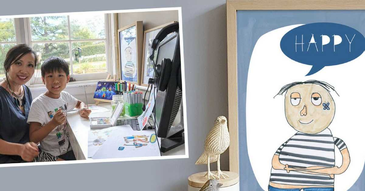 How a Mumpreneur Unlocked Her Autistic Son's Gift for Art