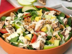 tarragon chicken waldorf salad-2