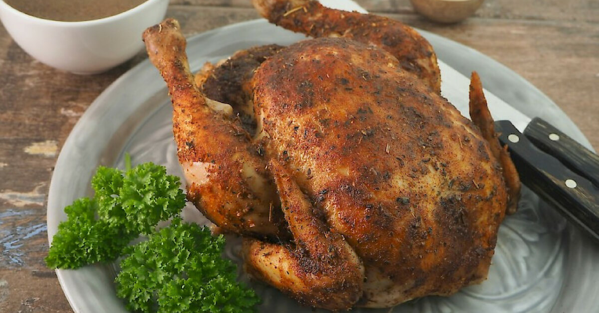 Slow-Cooker Baked Chicken with Gravy