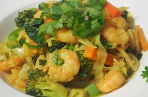 curried prawn stir fry-2