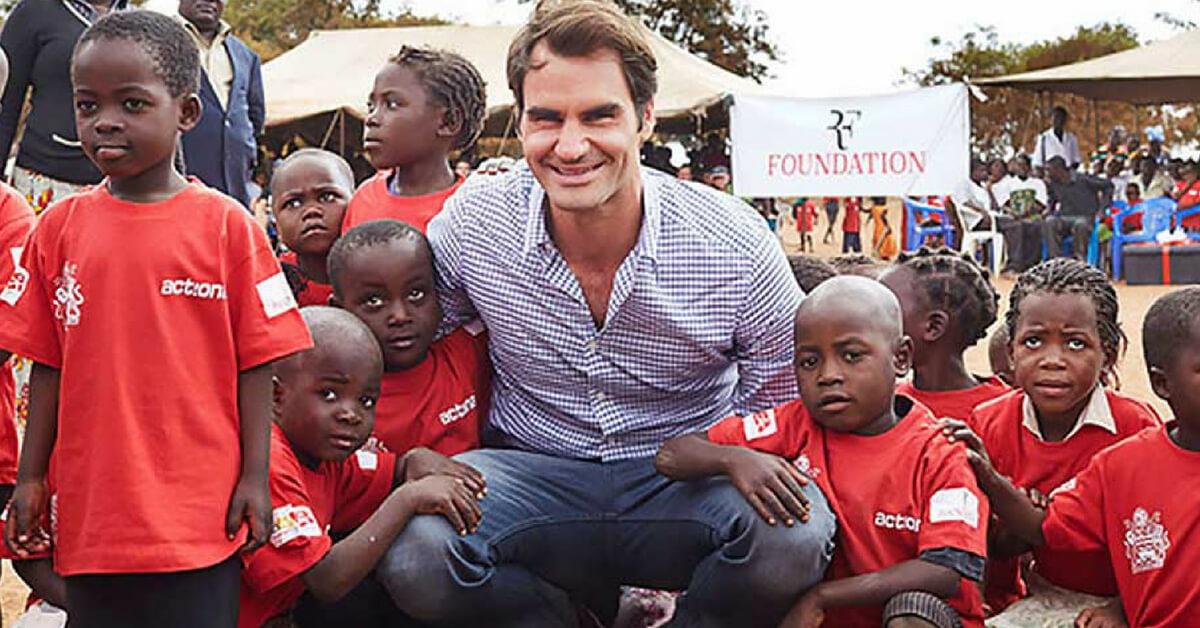 Roger Federer's Charity – Almost at 1 Million Children Goal