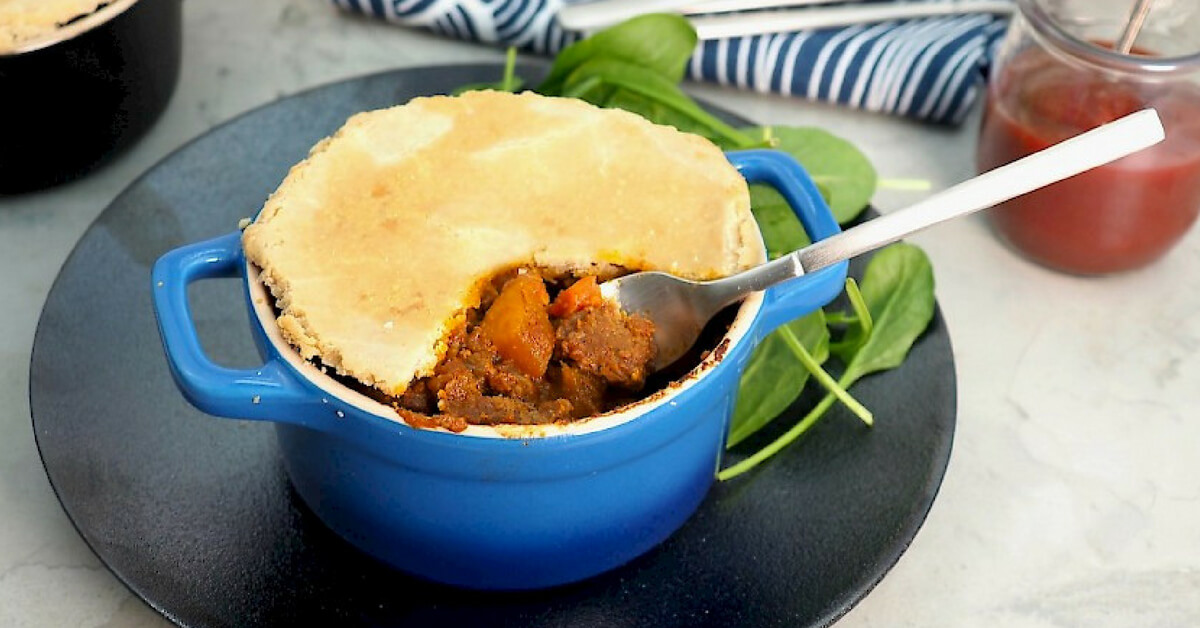 Hearty Beef Pot Pies
