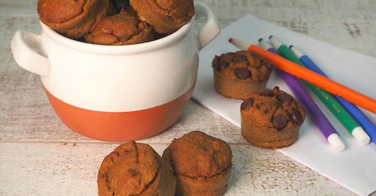 Sweet Potato & Banana Muffins