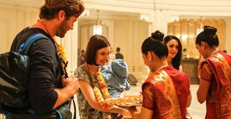 Actor Armie Hammer who stars in Hotel Mumbai.