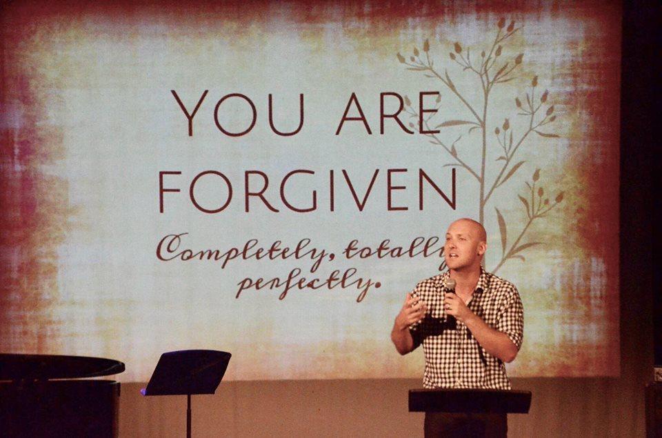 Tim Giovanelli preaching