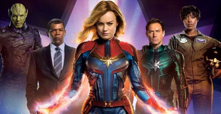 captain marvel cast promo photo