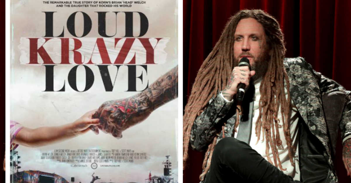 'Loud Krazy Love' – Korn Guitarist Brian 'Head' Welch Reveals How God Restored His Shattered Soul