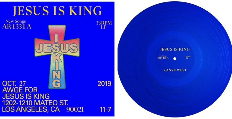 Jesus is King album
