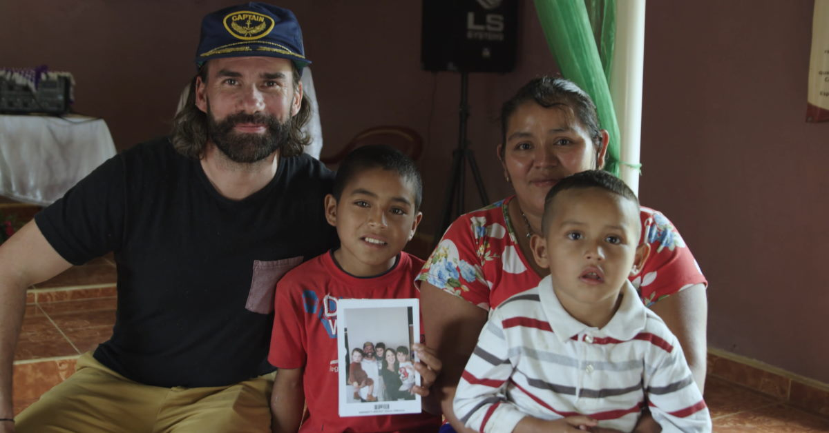 Rend Collective Band Leader Chosen by Sponsor Child
