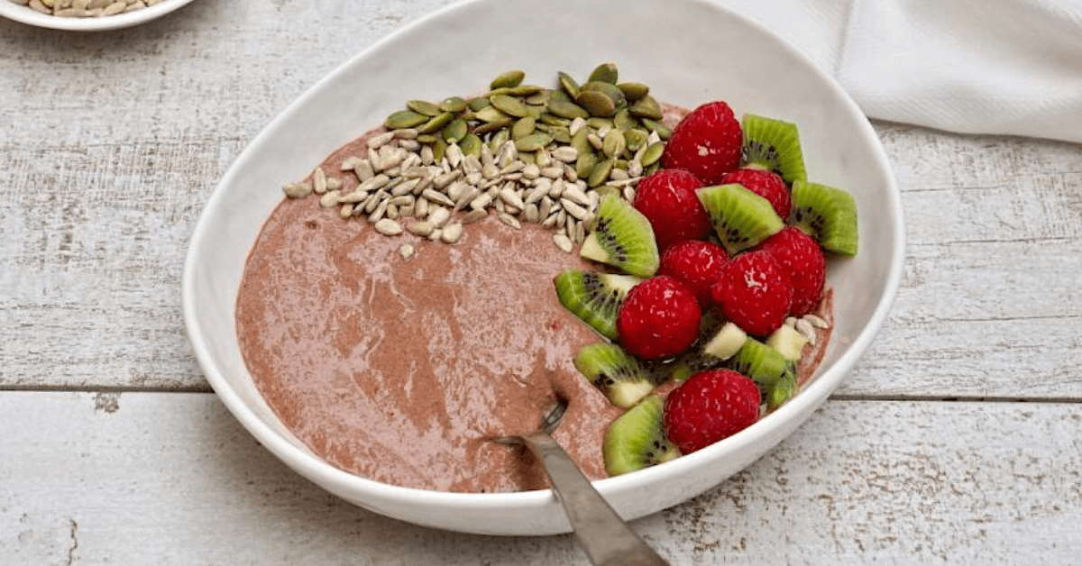 Raspberry & Chocolate Chia Bowl Recipe