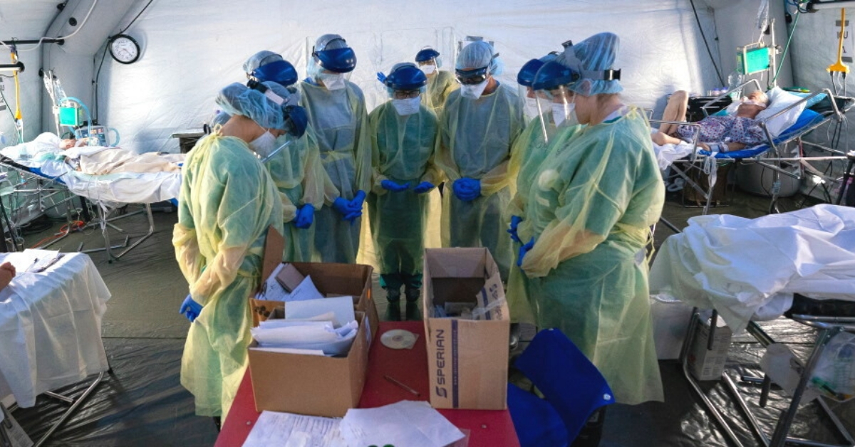 Prayer in the Pandemic: Inside the Emergency Field Hospitals