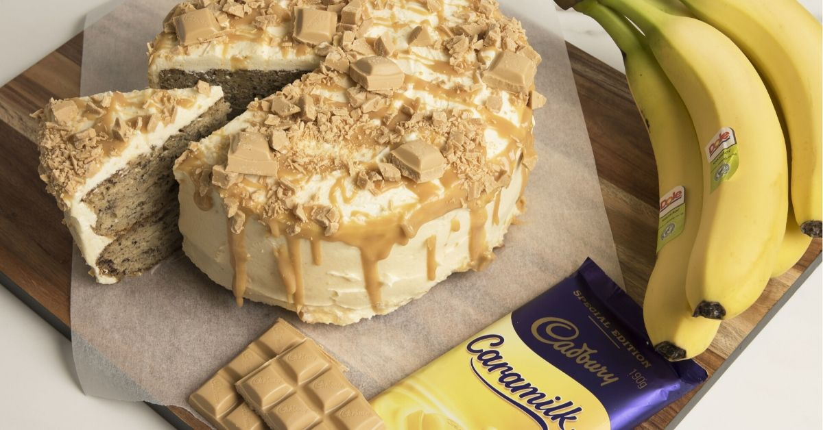 The Internet is Losing It's Mind Over This Banana Caramilk Cake Recipe