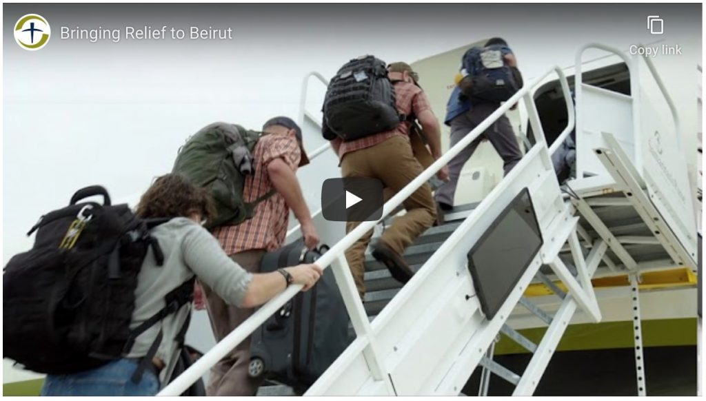 Samaritan's Purse Youtube video Bringing relief to beirut