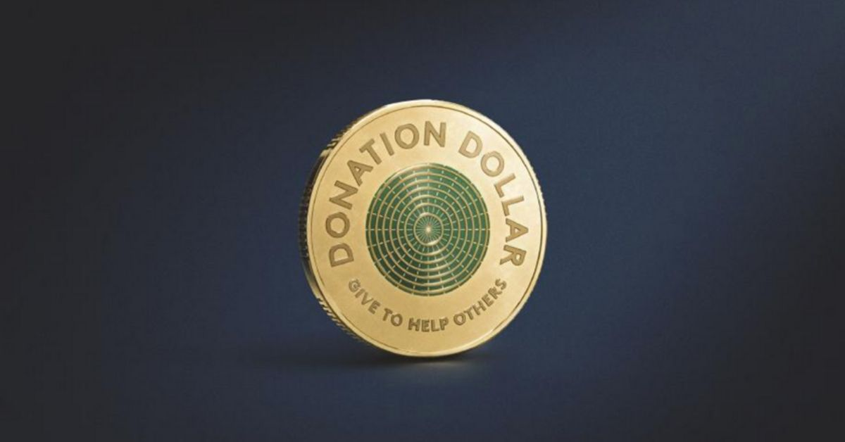 World's First 'Donation Dollar' Designed With Colour to Inspire Generosity Throughout Australia