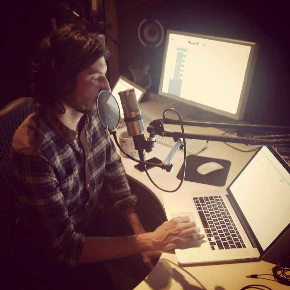 jon collins doing a voiceover